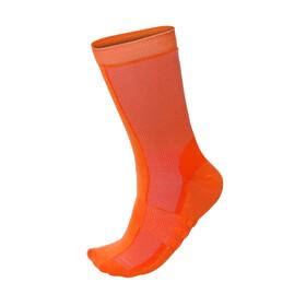 Santini Classe Mid Socks Men arancio fluo